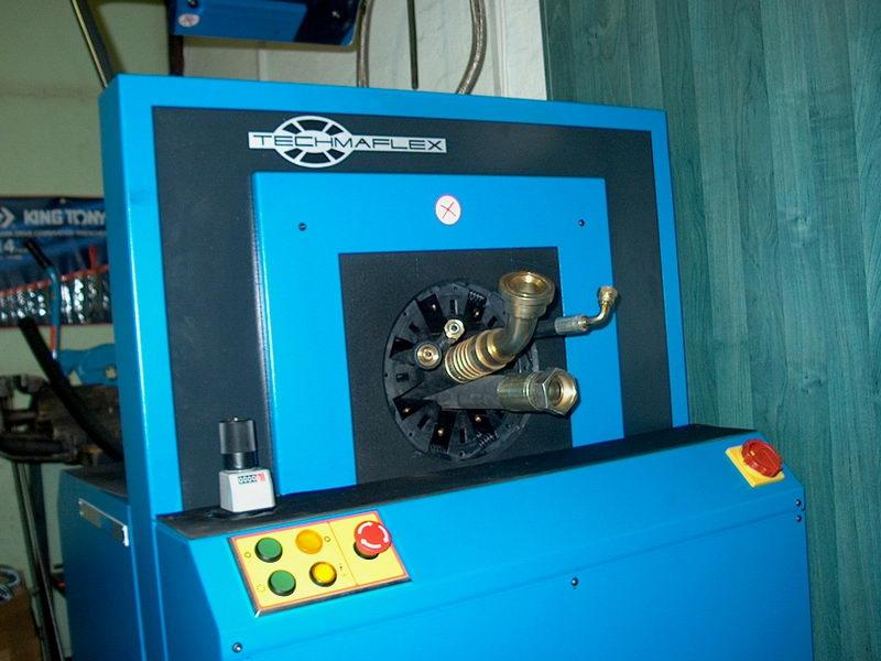 tömlőgyártó gép