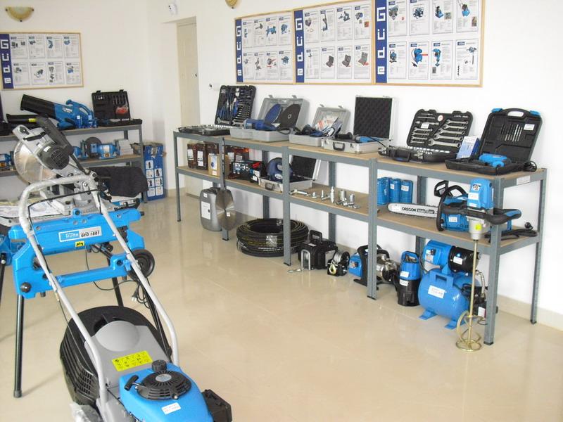 szerszámok, kisgépek a Hidro Master Kft. üzleteiben